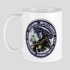 D.E.A. Cocaine Intel Mug